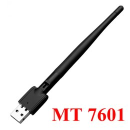 set top box usb UK - Freesat MT-7601 USB WiFi Adapter Wireless Antenna LAN Adapters Network Card For TV Set Top Box Adpater