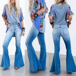 Опт Женские брюки Каприз Высокая талия Ретчатые микросвязные джинсы Брюки прямые кожаные женщины уличные
