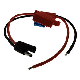 Wholesale Walkie talkie Radio Power Cable Fuse Material line Compatible With Moto Radios GM300 GM3188 GM3688 GM340 GM360(30CM)