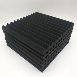 "48 Pcs Acoustic Panels Studio Soundproofing Foam Wedge 1"" X 12"" X 12"" Fzflr 1333 V2 on Sale"