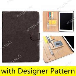 For ipad pro11 12.9 High-grade Tablet PC Cases ipad10.9 Air10.5 Air1 2 mini45 ipad10.2 ipad56 Top Quality Designer Fashion Leather Card Holder Pocket Cover mini 123