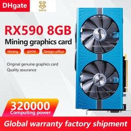 Venta al por mayor de RX590 8G Sapphire Platinum Edition Tarjeta de juego de gama de gama media a alta se puede usar para la minería de la moneda virtual Ethereum a las tarjetas gráficas