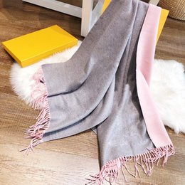 High quality Designer winter Wool Scarf shawl unisex Letter Flower long shape cashmere 180x70 cm Gift for Girlfriend on Sale