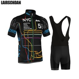 Wholesale Racing Sets Tenue Cyclisme Homme Pro Summer LairschDan Bike Wear Mens Cycling Jersey Set Breathable Bicycle Mtb Clothes
