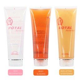 300ML Ultrasonic Gel RF&EMS Massager Cavitation Body Slimming Facial Skin Firming Lift Tighten Rejuvenation Moisturizing Cream