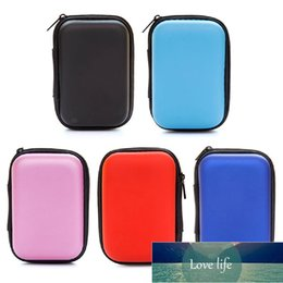 wholesale external hard drives NZ - Mini Portable Hard Disk Holder Case Protection Bag For External Hard Drive Earphone U Disk USB Cable Anti-pressure Storage Case
