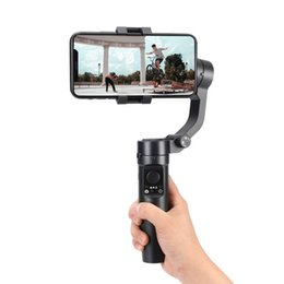 Wholesale Mobile phone stabilizer live broadcast anti-shake handheld gimbal three-axis smart Bluetooth