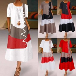 maxi dresses evening wear Canada - Casual Dresses Summer Maxi Sleeveless Tank Beach Straps Evening Party Holiday Wear Sundress