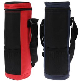 water bottle cooler bag UK - Water Bottle Cooler Tote Bag Universal Pouch High Capacity Insulated Outdoor Traveling Camping Hiking Bags