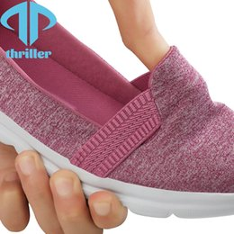 THRILLER 2021 summer simple all-match lady walking shoes casual anti-skid shock absorption comfortable breathable on Sale