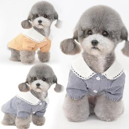 yorkshire terriers achat en gros de-news_sitemap_homeChemise de chien Summer Costume Costume Cat Puppy Chiot Yorkshire Terrier Vêtements Maltais Shih Tzu Poméranien Poodle Bichon Vêtements