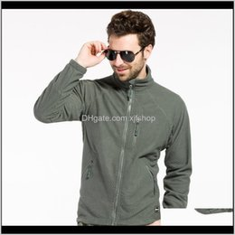 Hoodies Clothing Gear Drop Delivery 2021 Tactical Outdoors Softshell Fleece Men Light Weight Sportswear Hunting Thermal Hiking Hoodie Jacket on Sale