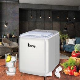 Опт Машина со льдом Машина для столешницы для кухни Холодильные инструменты Коммерческий дом 120 В 150 Вт 44 фунта / 20 кг / 24 часа