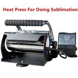 Großhandel! Sublimationsbearbeitung Wärmepressedrucker für 20 uch 30oz 12oz dünn gerader Taste 110V 3 Loch Plug Transfer Pressmaschine A12 im Angebot