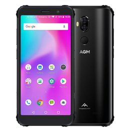 Wholesale AGM X3 Rugged Phone 6GB+64GB IP68 Waterproof Dustproof Shockproof Face ID & Fingerprint Identification 4100mAh Battery 5.99 inch Android 8.1