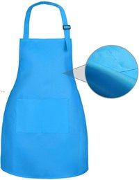 NEWCustomized your LOGO children Aprons Barista Bartender Chef BBQ Hairdressing Cooking Apron Catering Uniform Anti-Dirty Overalls EWD7791 on Sale