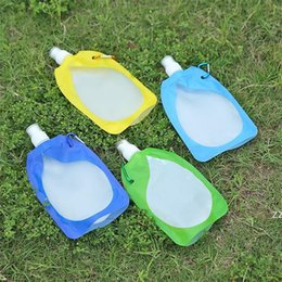Dobrável dobrável Colapsible Beber Carro Bag de Água Carrier Recipiente Ao Ar Livre Camping Caminhada Piquenique Liquid Saco HWF7643 em Promoção