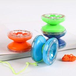 Wholesale Yoyo Children's plastic yo-yo colored puzzle cable