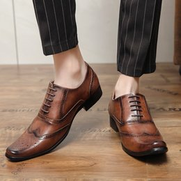 Hommes A2125 Habillé Richelieu Chaussures à Lacets Noir ou Brun By Maverick Sale