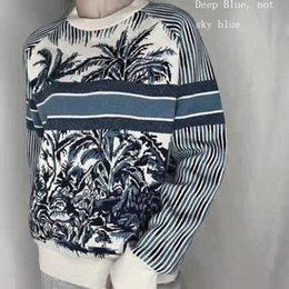 Męskie Swetry Długie Slewy Knitki Listy Pudełko Haft Moda Unisex Bluzy Pullover Bluza Mężczyźni Topy Dzianiny Odzież Azjatycki Rozmiar