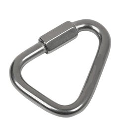 Wholesale Xinda 316 stainless steel triangle connecting ring Meilong lock Meilong lock triangle lock rock climbing equipment fast security 803 Z2
