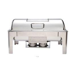 Utensílios de cozinha conjuntos potes de aço inoxidável dobradiça buffet fraco alimento aquecedor mar marinheiro dwd10847 em Promoção