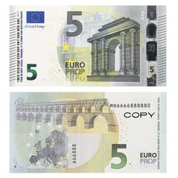 Funny Toy Prop 10 50 100 fake banknotes Copy Movie money faux billet euro 20 play Collection and Gifts on Sale