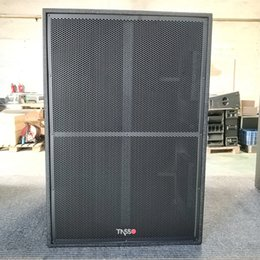Wholesale Woofer 18 inch outdoor subwoofer professional audio video boat dj speaker box pa systems for SUB218B