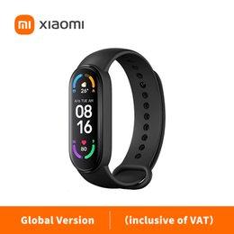 """Oryginalny Xiaomi MI Band 6 Sport Nadgarstek Tętna Tętna Tracker MIBAND 1.56 """"Amolowany ekran Smart Color Bransoletka (włącznie z VAT)"""