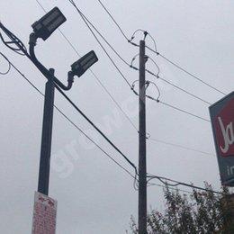 Опт Bull Horn Light Pole Монтаж Кронштейн Освещение Аксессуары Премиум Освещения Кронштейны Кронштейны Оружие Для установки New-Strixture Удобства также совместимы с большинством текущих приборов