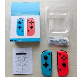 Wireless Bluetooth Pro Gamepad Controller Joystick For Switch Game Wireless Handle Joy-Con Right And Right Handle on Sale