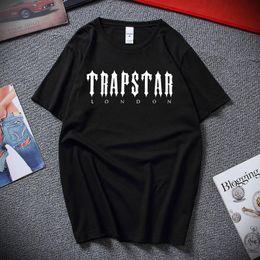 Men's T-Shirts Limited Trapstar London Clothing T-Shirt XS-2XL Men Woman Fashion Cotton Brand Teeshirt