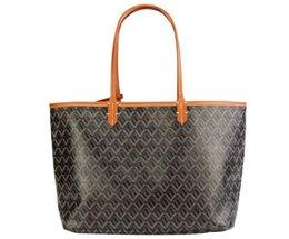 Wholesale Women's shopping bags Highest quality goya shoulder bag tote single-sided Real handbag large 57*31*17 CM trumpet 46*26*14