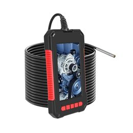 Lens 1080P Industrial Endoscope 4.3 Inch IPS Screen 6 LED Lights IP67 Waterproof Camera Inspection Borescope Lenses on Sale