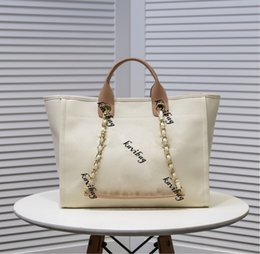 Fashion Women Large Capacity Duffel Pearl Beach Bag Shoulder Luxury Shopping Tote purse Airport Weekender Traveling on Sale