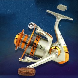 Wholesale new Metal Spinning Fishing Reels Wheel Fishing Metal Rocker Reel Spinner Salt Water Tool Accessories1 569 X2