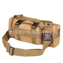 waist pack camera bags Canada - military fans tactical 3P magic multi function shoulder camera bag men's and women's outdoor riding waist pack