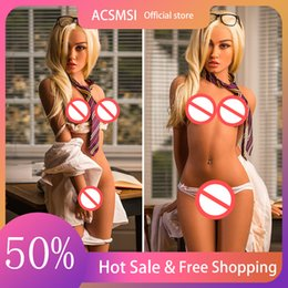 Silicone realistic sex Doll for Men Real Love Dolls Big Boobs Anal Vagina Adult Sexy Male Masturbation on Sale