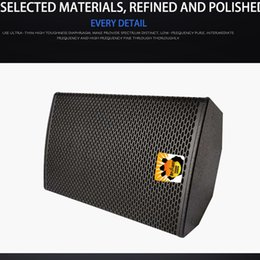 Wholesale Professional conference room sound package speaker stage performance amplifying conferences wedding rental speakers KTV speaker's wall hanging small training