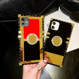 Modedesigner Phone Case Luxury Cover Casual Markenfälle für iPhone 12 11 Pro Max XR xs für Samsung S9 S10 Plus S10E Note10 mit Stand im Angebot