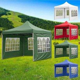 テントとシェルター1ピース四隅折りたたみテント布カスタム防水屋外キャンプストール景色