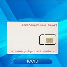 GN SIM Smart Attivation Sblocco Semi per 6S 7 8 x XS XR 11 12 IOS 14.5 Carriers Sblocking Card in Offerta