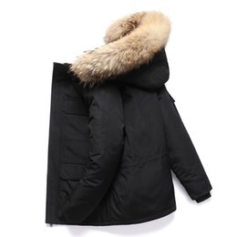 Wholesale canadian coats for sale - Group buy Mens downs Style Joker Sale parkas Down Coat Canadian Casual parka Handsome Fashion Business Goose Warm Winter Jacket For Man