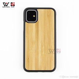 Wholesale iphone custom cases for sale - Group buy Fashion Phone Cases For iPhone Plus X XS XR11 Pro Max Wood shockproof TPU Custom Design Smooth Back Cover