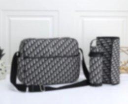 2021 Ny stor kapacitet mamma väska baby care kvinnors mode väska