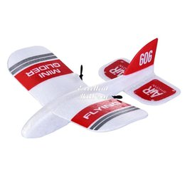 Wholesale KF606 Electric 2.4G Remote Control Aircraft& RC Plane, Kid Mini Glider Toy, Hand Throwing Flight, EPP Anti-collision Material, Christmas Boy Gift, USEU