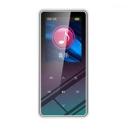 8G MP3 Player Bluetooth Speaker 1.5 Inch LCD Sn Contact Button Radio HiFi Music Portable Metal Walkman11 on Sale