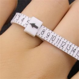 High Quality Ring Sizer UK US Official British American Finger Measure Gauge Men and Womens Sizes A-Z Jewelry Accessory Measurer 1212 Q2 on Sale