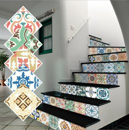NEWKitchen Wall Floor Tile Stickers DIY Waterproof Non-Slip for Bathroom Classroom Removable Sticker Self-Adhesive Peel and Stick GWA6421 on Sale