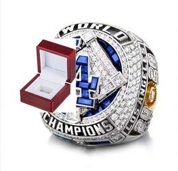 2021 wholesale 2020 LA championship ring Rings Dodge fashion champion ring Fan Gift wholesale Drop Shipping on Sale